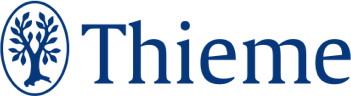 logo for Thieme, a medical and science publishing company